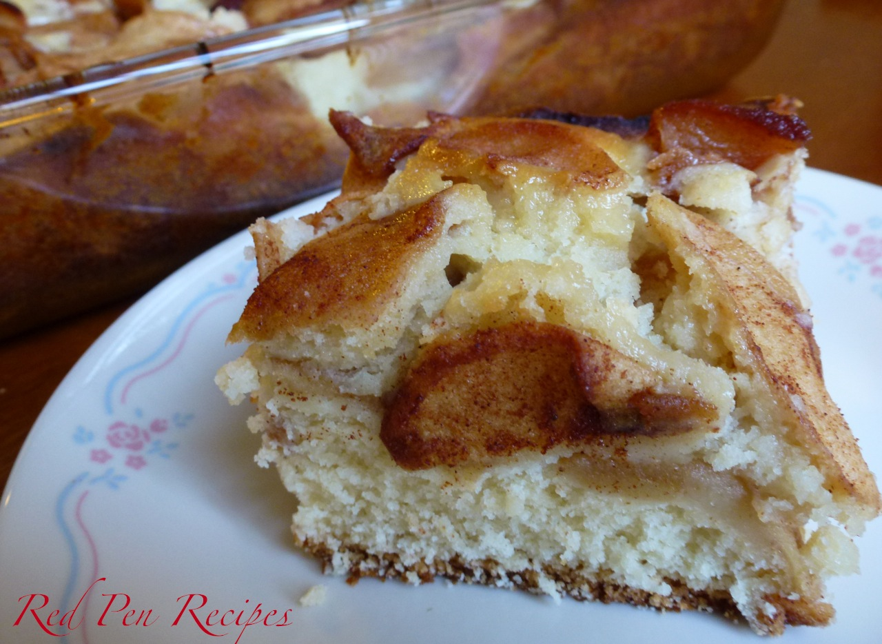 apple coffee cake « Red Pen Recipes