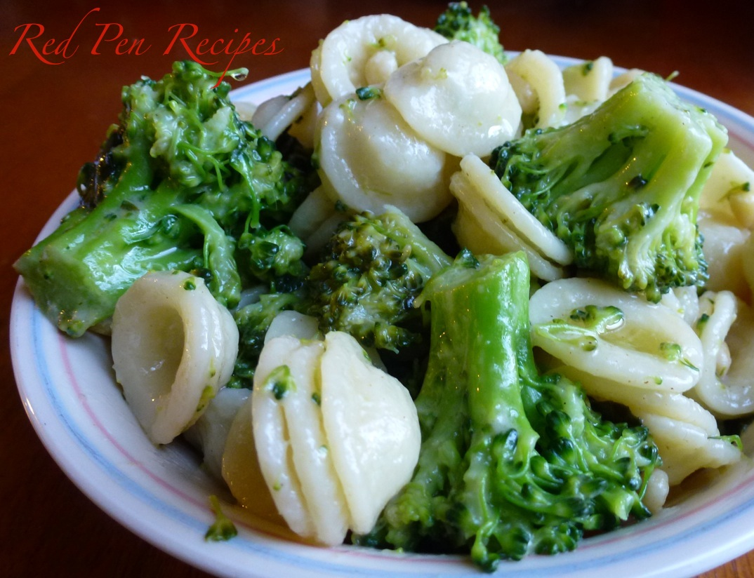 Beautiful broccoli shines in simple pasta dish