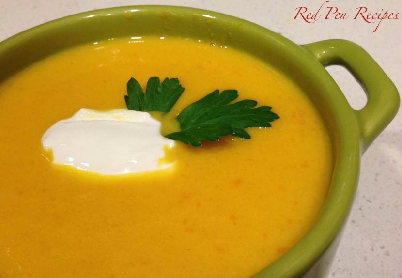Carrotgingersoup